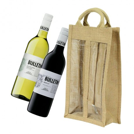 Bundle of 2 - Bulletin Place Pair With Jute Carrier