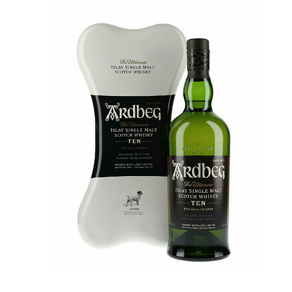 Ardbeg Ten Gift Tin Bone Set