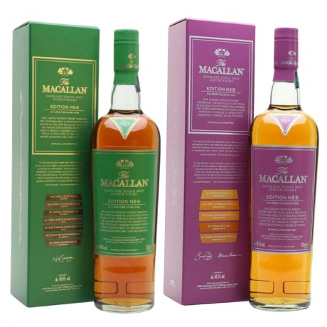 Macallan Edition Series Bundle [No 4, 5 and 6]