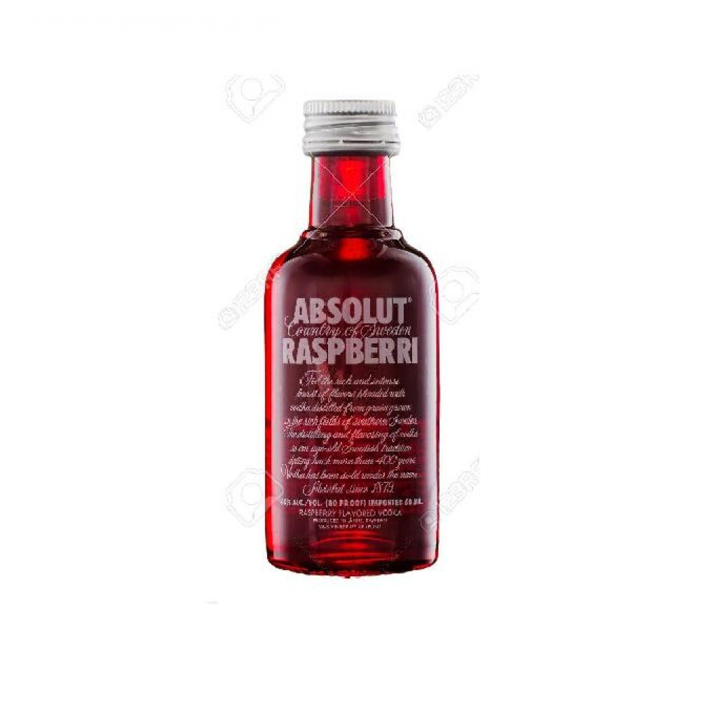Absolut Raspberri Miniature
